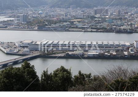 图库照片: 高知县 四国岛 市场