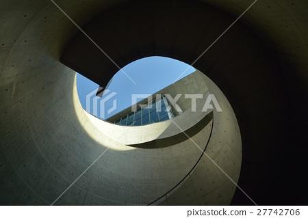 图库照片: 螺旋楼梯 具体 混凝土