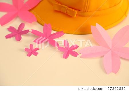 图库照片: 折纸 樱花 樱桃树