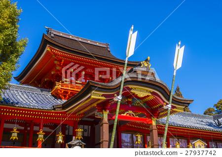 图库照片: 石清水八幡宫 八幡神社 神殿