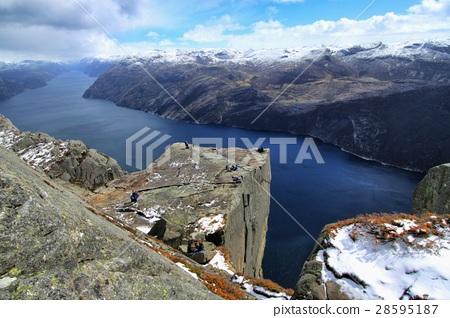 图库照片: 挪威 风景 自然