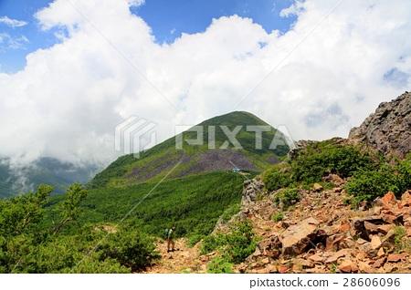 图库照片: 爬山 风景 夏季的山区