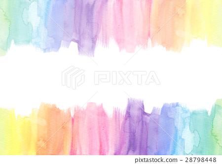 图库插图: 彩虹色 背景材料 背景素材