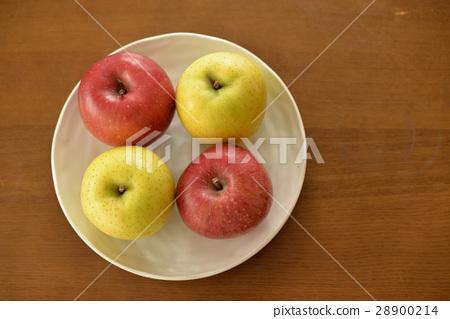 图库照片: 苹果 水果 盘子