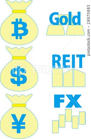 图库插图: 矢量 财政 经济
