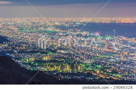 图库照片: 夜景 风景 神户