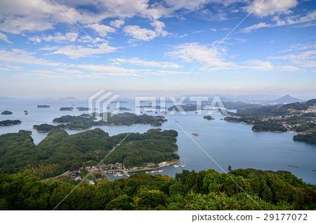 图库照片: 佐世保 九十九岛 海洋
