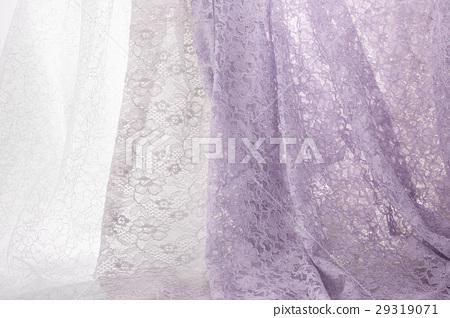 照片 质地 布料 蕾丝 布料 织物 褶皱  *pixta限定素材仅在pixta网站
