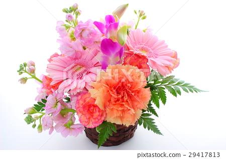 图库照片: 春天般的插花