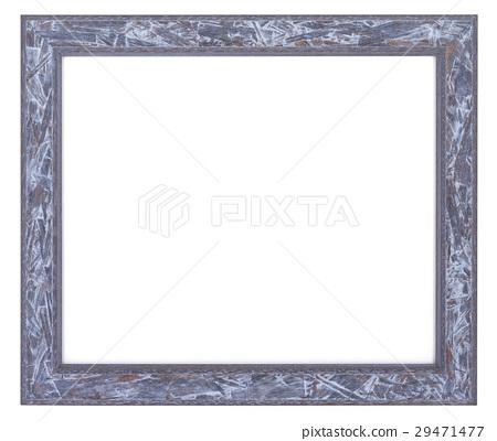 白灰色相框素材