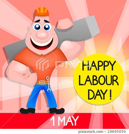插图素材: usa labor day