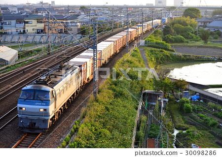 交通工具_交通 电车_铁道 火车 火车jr货运 交通  *pixta限定素材仅在