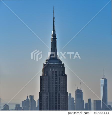 图库照片: 纽约 帝国大厦 城市