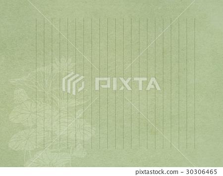 莲花 首页 插图 植物_花 花 莲花 信纸 书写纸 莲花  *pixta限定素材