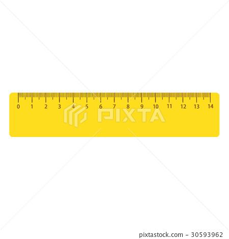 图库插图: 矢量 三角尺 三角形