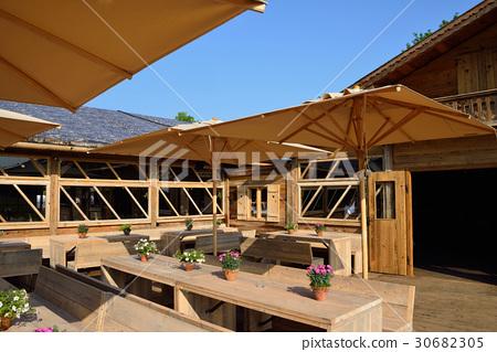 图库照片: 餐厅 饭店 山野中的小木屋