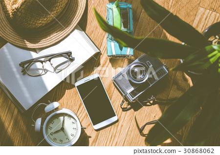 图库照片: 智能手机 钟表 时钟