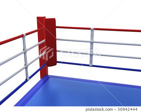 插图素材: boxing ring