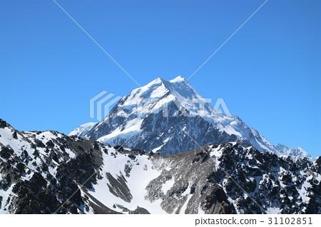 雪山 照片 新西兰 库克山 雪山 首页 照片 风景_自然 山 雪山 新西兰