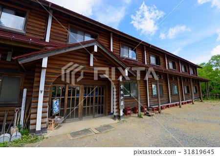 图库照片: 山野中的小木屋 山庄 山区别墅