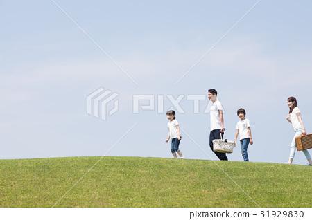 图库照片: 野餐 家庭 家族