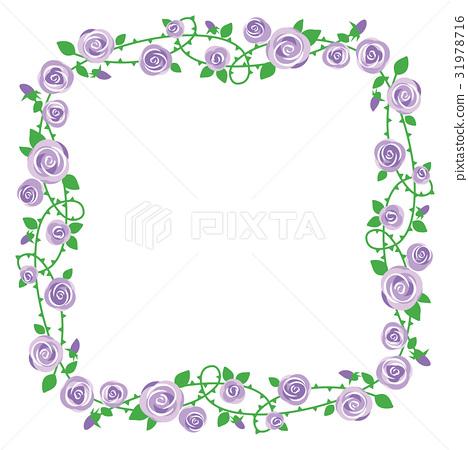 图库插图: 玫瑰 玫瑰花 悬挂的玫瑰