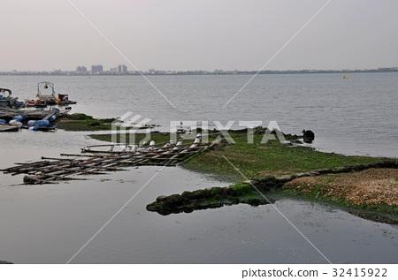 图库照片: 海洋 垃圾 海