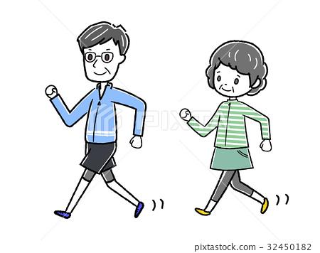 人物 男女 情侣/夫妻 插图 行走 步行 走路 首页 插图 人物 男女 情侣