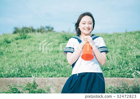 女生 首页 照片 人物 女性 女孩 高中生 少女 女生  *pixta限定素材仅
