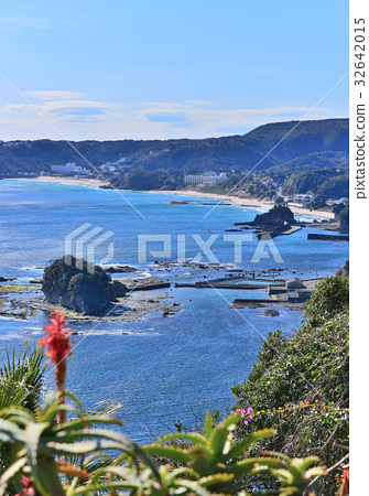 圖庫照片: 風景 伊豆 海洋