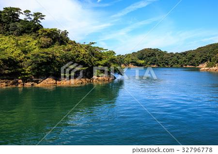 图库照片: 佐世保 九十九岛 观光平台