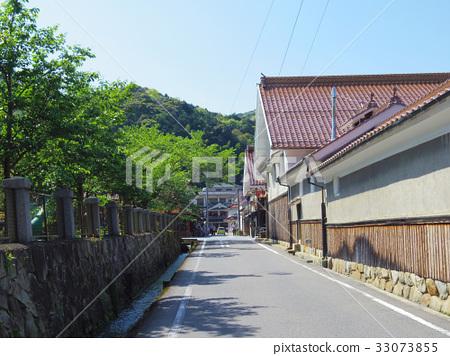 图库照片: 津和野町 岛根县 日本