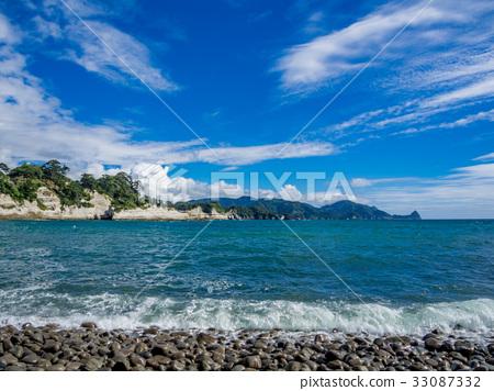 圖庫照片: [伊豆半島地質公園]西子湯島的風景[夏天]