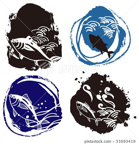 图库插图: 金枪鱼 鱼 海洋