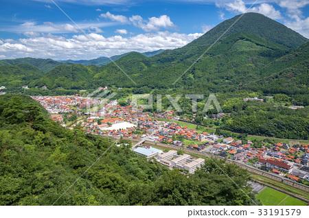 图库照片: 津和野町 城市风光 风景