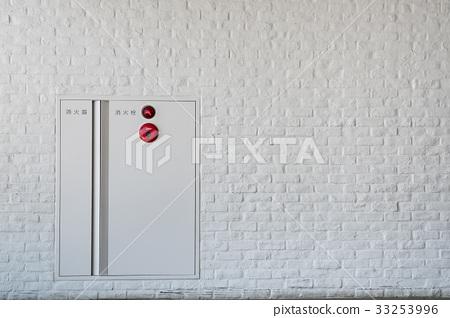 图库照片: 消防栓 火灾报警器 火