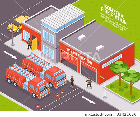 department简写_图库插图: fire department illustration