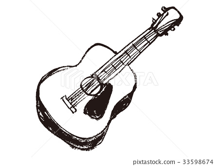 职业_上班族 艺术家 吉他手 吉他 民谣吉他 器具  *pixta限定素材仅在
