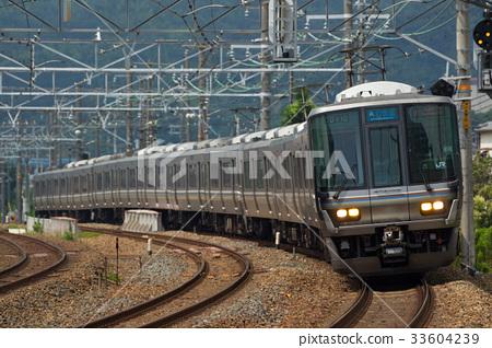 图库照片: 东海道本线 特别急行列车 系列
