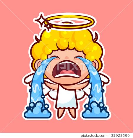 weep_图库插图: sticker emoji emoticon, emotion sob, cry, weep