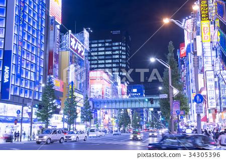 日本风景 东京 秋叶原 照片 秋叶原在一个繁忙的夜晚 首页 照片 日本