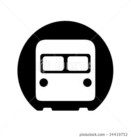 图库插图: 矢量 地下铁路 地铁