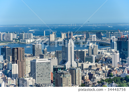 图库照片: 东京白天都市风景