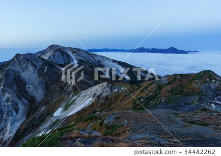 图库照片: 自然 风景 白马岳