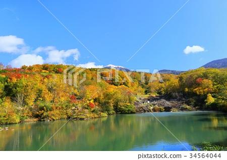 地狱湖风景帕提尼尔