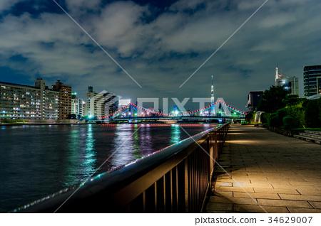 日本风景 东京 东京晴空塔 照片 [东京]夜晚的城市风光 首页 照片