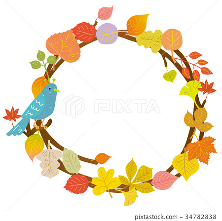 动物_鸟儿 鸟儿 小鸟 插图 秋天 秋 树叶 首页 插图 动物_鸟儿 鸟儿