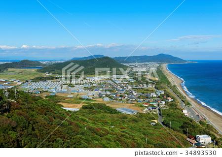 图库照片: 奄美半岛katahama jusanri