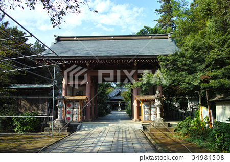 室内装饰_家具 门 神殿 八幡神社 大门  *pixta限定素材仅在pixta网站