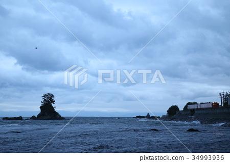 图库照片: 赫德岛和麦克唐纳群岛线 天原海滩 富山